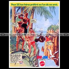 Mattel BIG JIM JEFF JACK DR STEEL - 1977 Pub Publicité Action Figure Ad #A217
