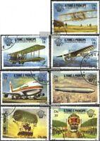 Sao Tome e Principe 830-836 (kompl.Ausg.) gestempelt 1983 200 Jahre Luftfahrt