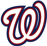 "Washington Nationals MLB Vinyl Decal - You Choose Size 2""-28"""