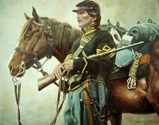 """""""First Sergeant"""" Don Stivers Civil War Commemorative Edition Giclee Print"""