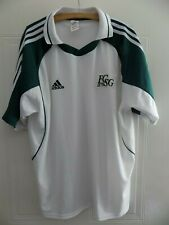 More details for fc sankt gallen vintage retro adidas 2001/2002 football shirt home xl soccer