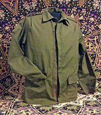 70's Woman OG-107 Utility Shirt Poplin Shirt Jacket Sz 12 Vietnam War Style Nice