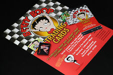 BETTY BOOP COLLECTIBLE COLLECTION VERY RARE CARDS FLYER + 1 PACK