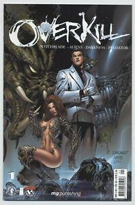 OVERKILL (deutsch) # 1 - WITCHBLADE - ALIENS - DARKNESS - PREDATOR - 2001 - Z 1-