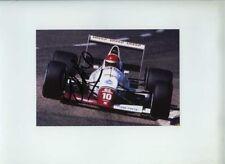 Eddie Cheever usf&g flèches français du A11 Grand Prix 1989 signé Photo 1