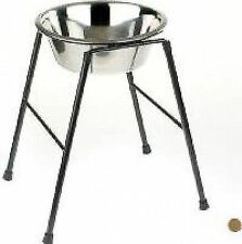 Raised Single Dog Feeder Highstand Classic Inc Bowl High Stand - 2500ml