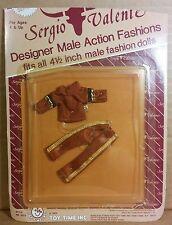 "Miss Sergio Valente mini male doll outfit 4"" 82 Mattel Dazzle Glamour Gals Clone"