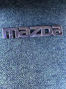 MAZDA 3 REAR CAR BADGE LOGO BN8V51710
