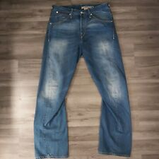 Levi's Engineered Jeans 12025 W/ Leather Detailing and Twisted Leg - Size 32/32
