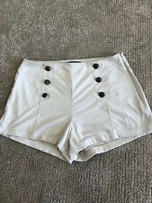 Guess los Angeles Faux Suede Shorts Sailor Pin-Up Girl Style Size M