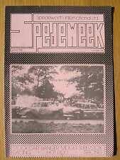 Stock Car Racing Programme Spedeworth Spedeweek No 34 August 1975 Wimbledon