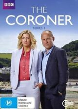 THE CORONER (COMPLETE SERIES 1 - DVD SET SEALED + FREE POST)