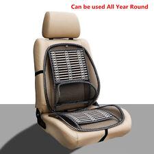 1 Pcs Mesh Bamboon Lumbar Brace Back Support Pad Waist Massage Car Seat Cushion