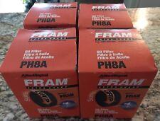 Lot Of 4 GENUINE FRAM PH8A ENGINE OIL FILTER