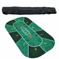 Deluxe Suede Rubber Texas Hold'em Poker Tablecloth Casino Poker Board Game Mat