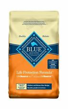 Blue Buffalo Life Protection Formula Large Breed Dog Food – Natural Dry Dog F...