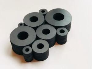 "Neoprene Rubber Washers Assortment of USS Sizes in 1/8""  Thickness"