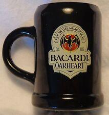 Bacardi Oakheart Rum Miniature Mug - Shot Glass...Plastic....NEW