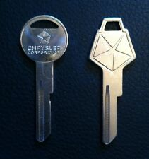 Chrysler Pentastar Ignition Trunk Door Key Blanks - Dodge Plymouth MOPAR NOS