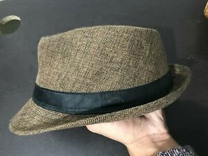 Hat Band Grosgrain classic brown Trilby Style
