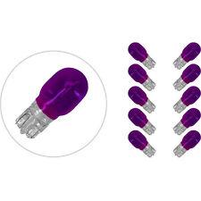 77220134 LAMPADINE FRECCE 12V 10W TUTTOVETRO VIOLA CONFEZIONE da 10 PEZZI