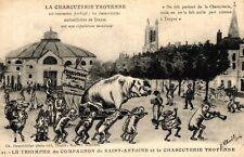 """Porc, français AK, """"Le Triomphe TU compagnon..."""", pour 1910/20"""