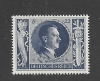 MNH stamp PF08 + PF22 Hitler 1943 Birthday / WWII Germany / Third Reich ScB233