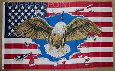 3'x5' Patriotic Eagle USA Flag Military Vets Veterans US Pride Old Glory New 3x5