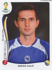 N°439 SENAD LULIC # BOSNIA STICKER PANINI WORLD CUP BRAZIL 2014