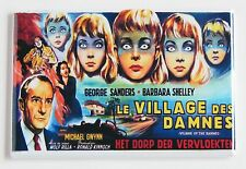 Village of the Damned (France) FRIDGE MAGNET (2.5 x 3.5 inches) movie poster