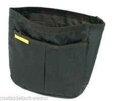 Metal Detector Finds Recovery Pouch with 2 Pockets (1 zippered) and Mesh Bottom