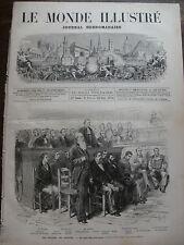 MONDE ILLUSTRE 1874 N 911 LE PROCES DE GRASSE