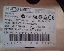 Hard Disk Drive IDE Fujitsu Limited MPD3043AT CA05177-B99200VW 816-0347