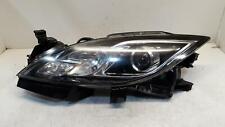 2008 MAZDA 6 Left Headlamp GH Halogen with Black Insert 08-10
