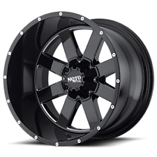 "20x10 Moto Metal MO962 Wheel and Tire Package 35"" MT 5x5 Jeep Wrangler JK"