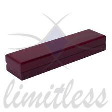 Dark Red or Rose Wood Wooden Gift Bracelet Box Elegant/Fancy/New/Good Quality