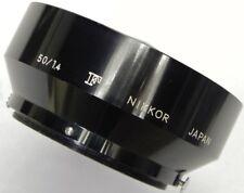 Nikon F 50mm f1.4 Hood  #1 ......... Minty