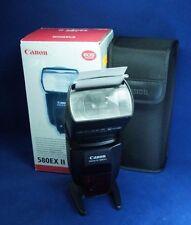 Canon Speedlite 580EXII 580 EX II, box, case