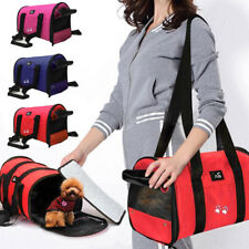 Convenient Pet Puppy Cat Travel Carrier Tote Cage Bag Kennel Crates Box Holder