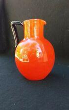Pichet à orangeade eau pâte de verre SCHNEIDER LE VERRE FRANCAIS