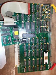 Grafikkarte mit NEC UPD7220 µPD7220 D7220 aus R&S PCA Prozessrechner