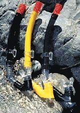 Poolmaster Pro Dry Top-Purge Skin Diving Snorkel .. New, assorted colors