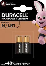 2 x DURACELL® E90 N M9100 LR1 1.5V Alkaline Batteries Expiry 2024