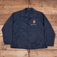 "Para Hombre de colección chaqueta de entrenador campeón correr hombre 1960s hecho en Estados Unidos XL 46"" XR 8266"