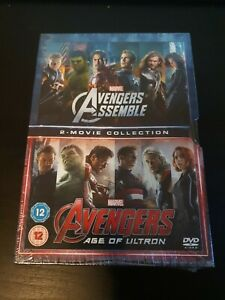 Marvel Avengers Assemble & Age of Ultron Box Set DVD Region 2 Action Superhero