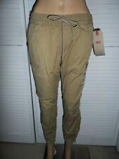 Cool Levi's size S khaki drawstring banded joggers pants women NWT