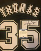 Frank Thomas Signed Custom Chicago White Sox Jersey w/Beckett COA
