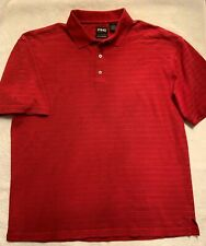 Ping Collection Men's Golf Polo Shirt Size Large Red Embroidered Logo