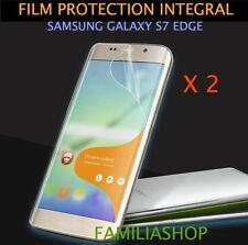 Lot de 2 Films Total Intégral Pour Écran Incurvé Courbé Samsung Galaxy S7 Edge