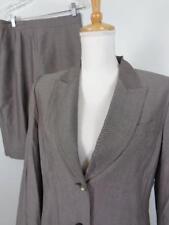 Kasper Gray Skirt Suit Womens sz 10P Blazer 28W Rayon NWT *Fixable Flaw